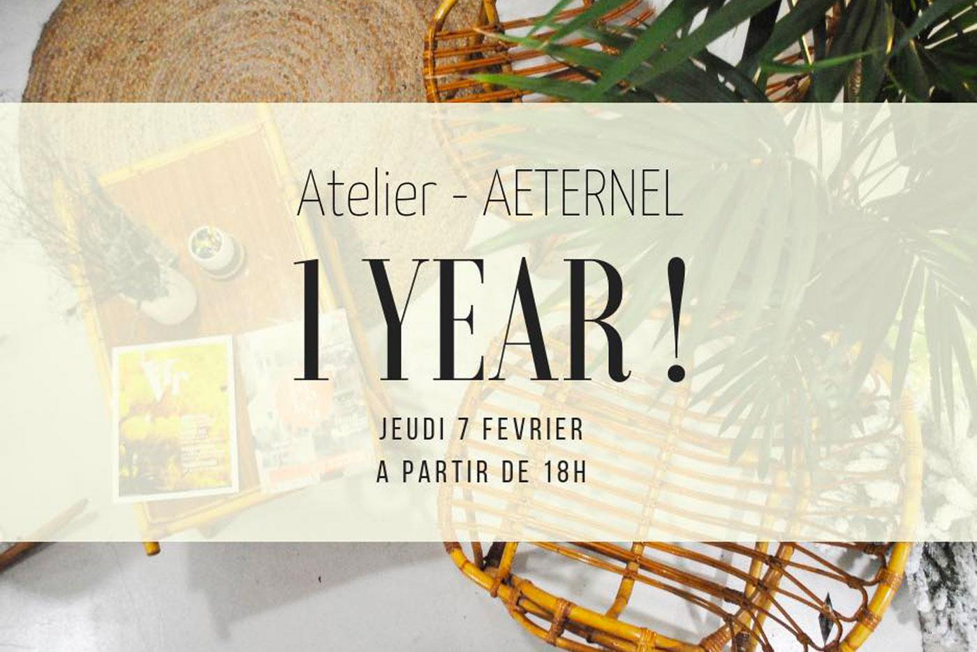 Atelier Aeternel anniversaire