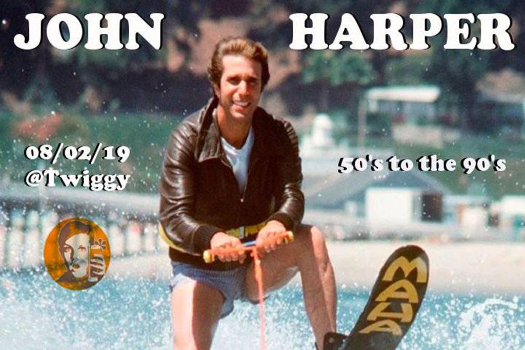 John Harper au Twiggy