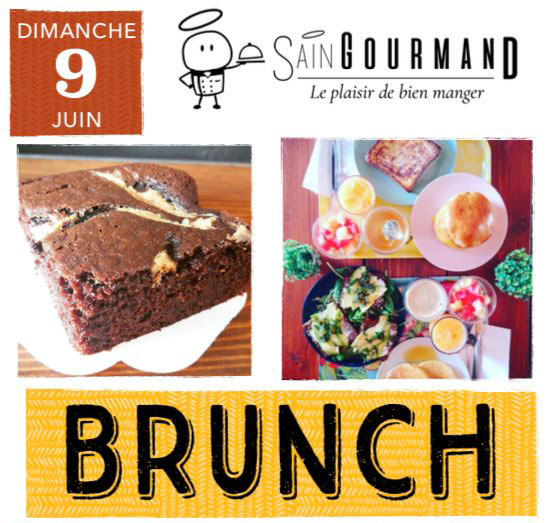 Sain Gourmand brunch