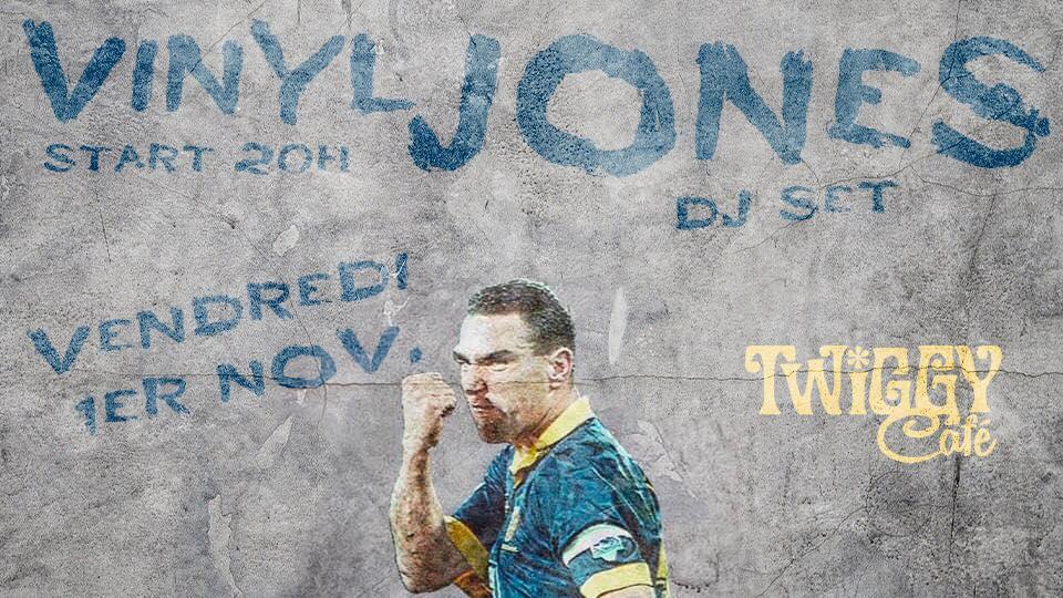 Vinyl Jones Twiggy