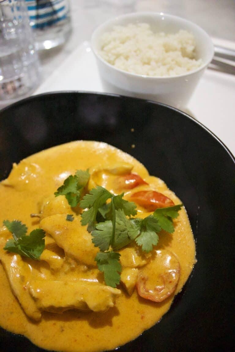 Curry de Poulet Toulon