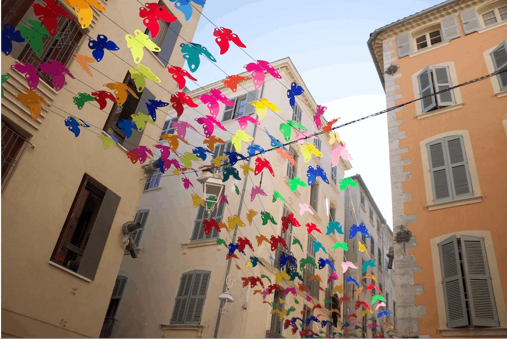 Ciel de Papillons à Toulon