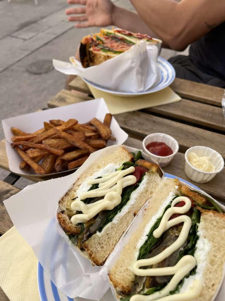 Sando Club Sandwich Toulon