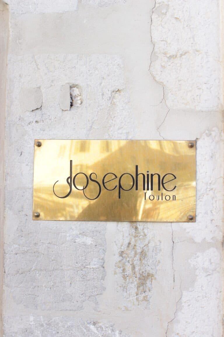 Joséphine Restaurant Place de l'Équerre à Toulon