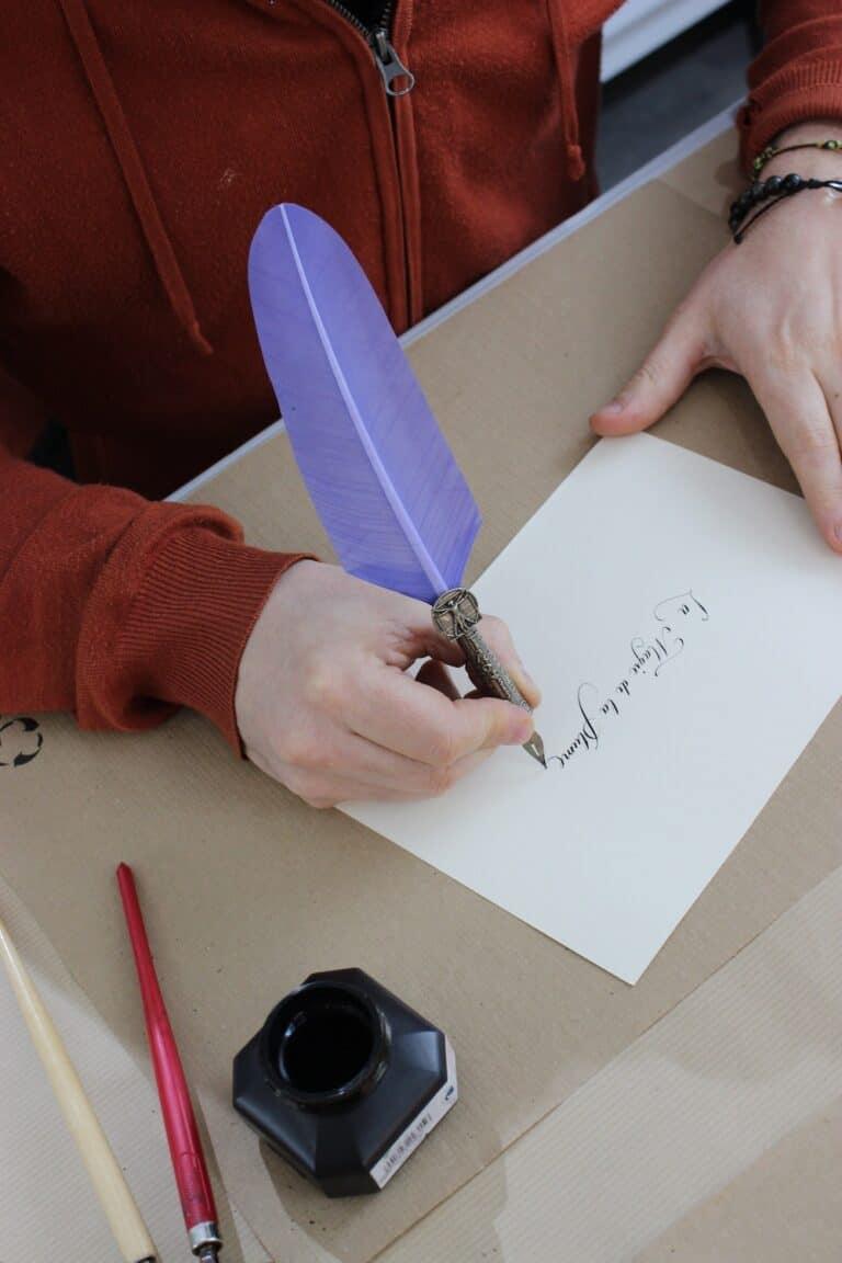 Luzia Callifabe Calligraphie Toulon