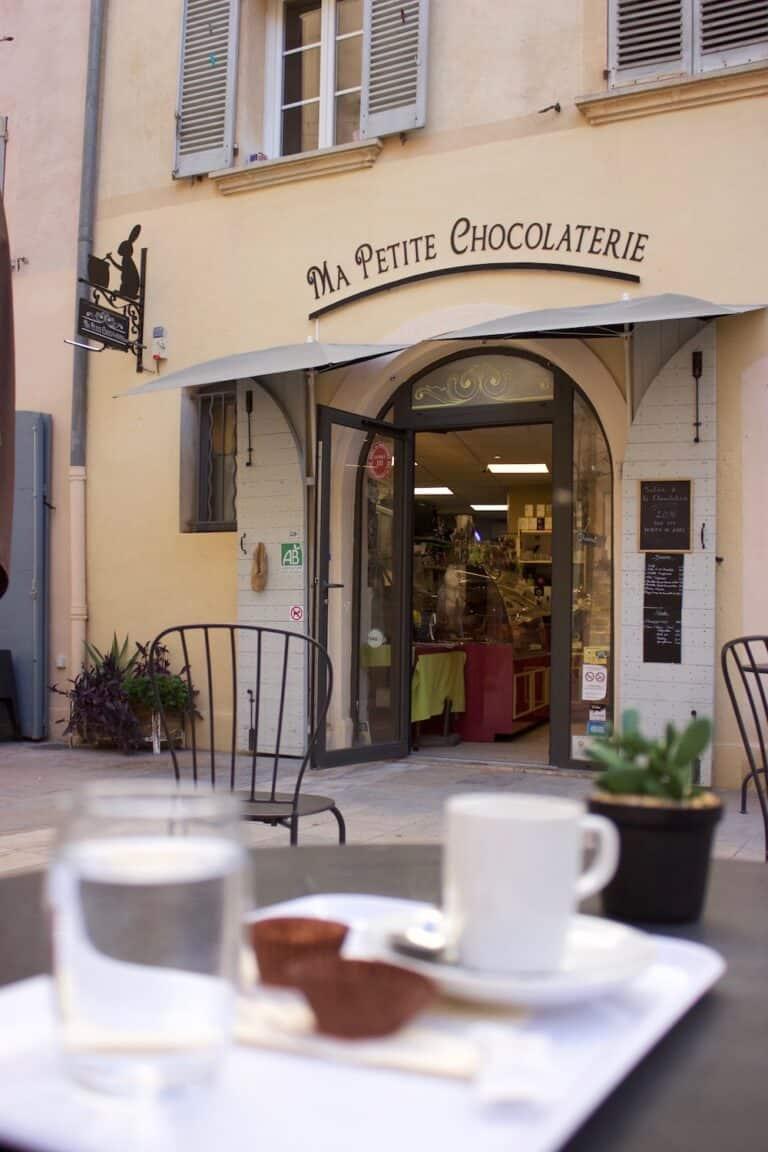 Vitrine de Ma Petite Chocolaterie Toulon